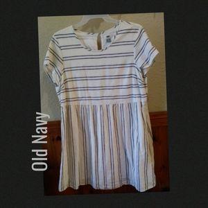 Old Navy striped cotton dress